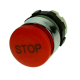 Emergency Stop Pushbutton 28mm, Red With White STOP Print, Turn