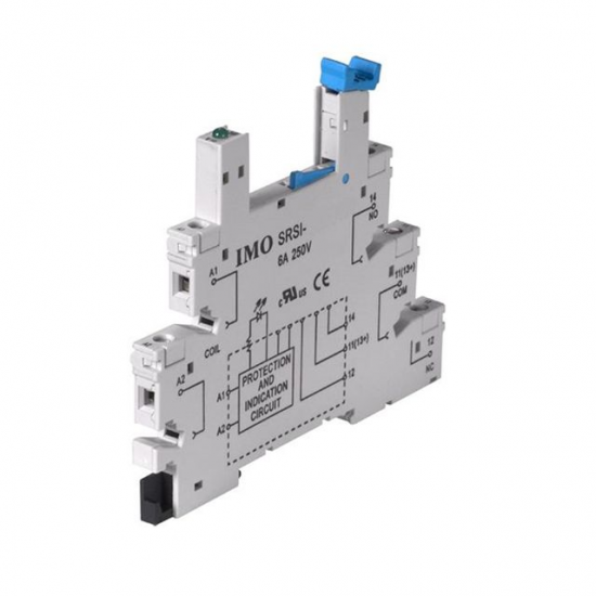 Slim Line Relay Socket - Click Image to Close