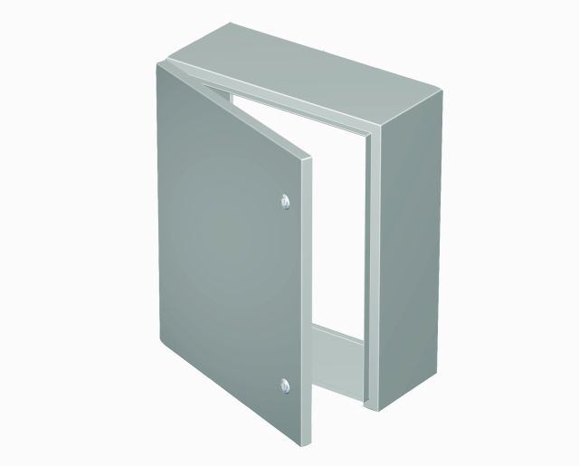 NEMA 1 Single Door Wall Mount - Click Image to Close