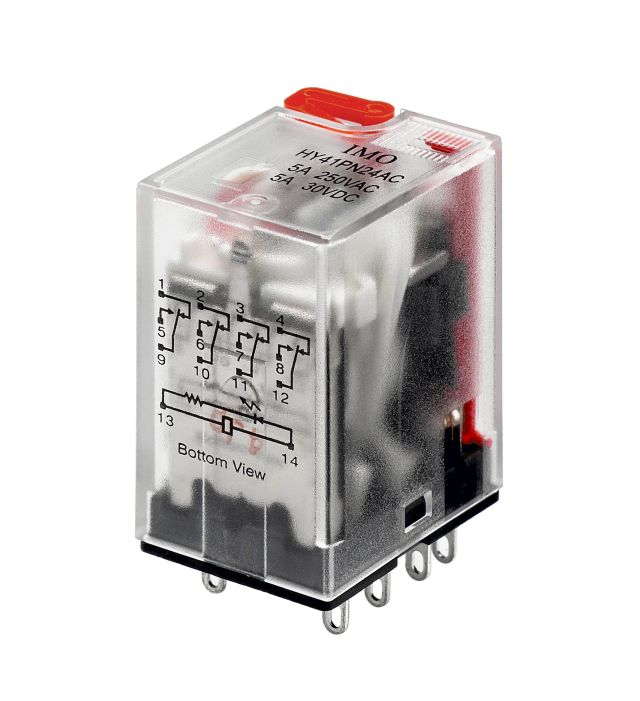 Industrial Power Relay  Hye41pn120ac    Industrial Control Direct