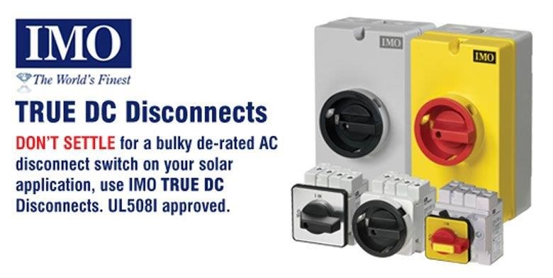 Dc Disconnect Switches Industrial Control Direct